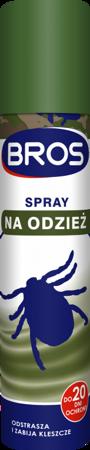 Bros Spray na Odzież - przeciw kleszczom 90ml