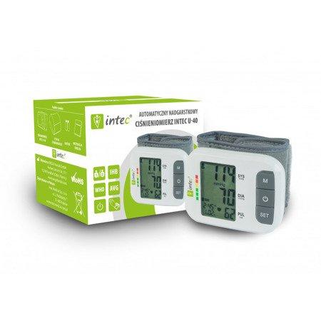 Ciśnieniomierz automatyczny Intec u40 nadgarstkowy