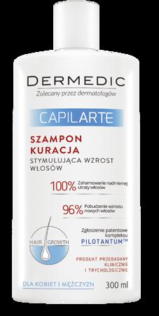 Dermedic Capilarte szampon kuracyjny na wzrost włosów 300ml