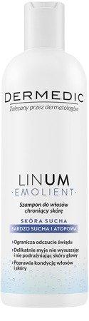 Dermedic Linum Emolient szampon do włosów 200ml