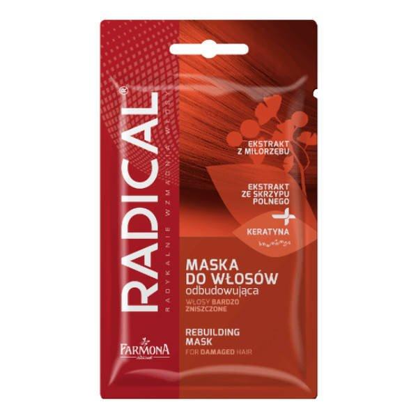 Farmona Radical maska do włosów odbudowująca włosy bardzo zniszczone 20g saszetka