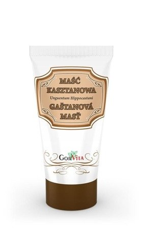 Gorvita Maść kasztanowa, pielęgnacyjna 130ml