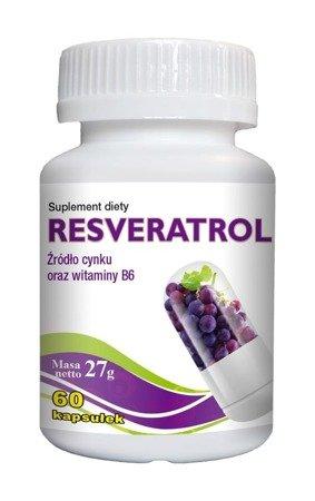 Gorvita Resveratrol, antyoksydant 60 kaps.