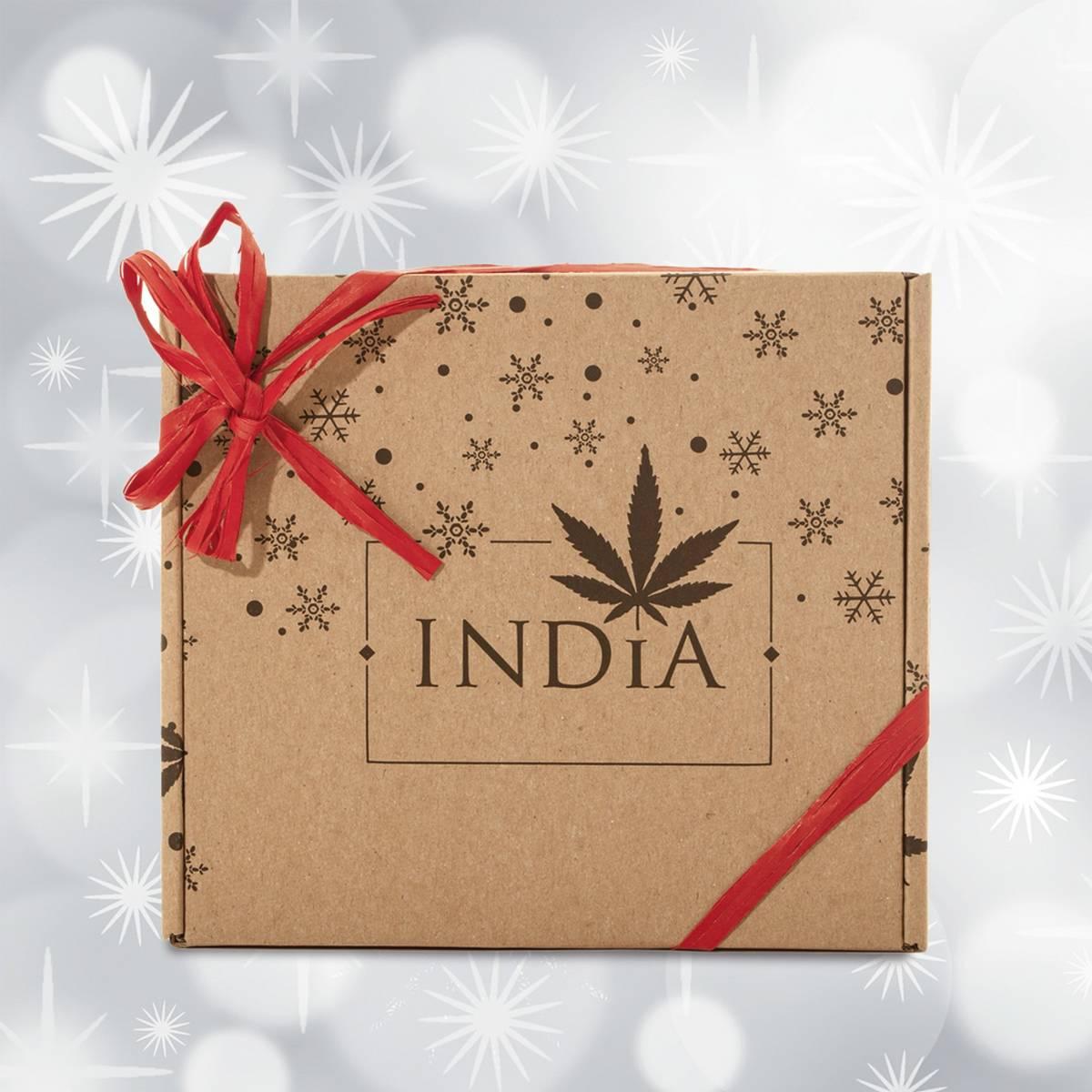 India Mini Zestaw (pomadka, krem do twarzy, serum)