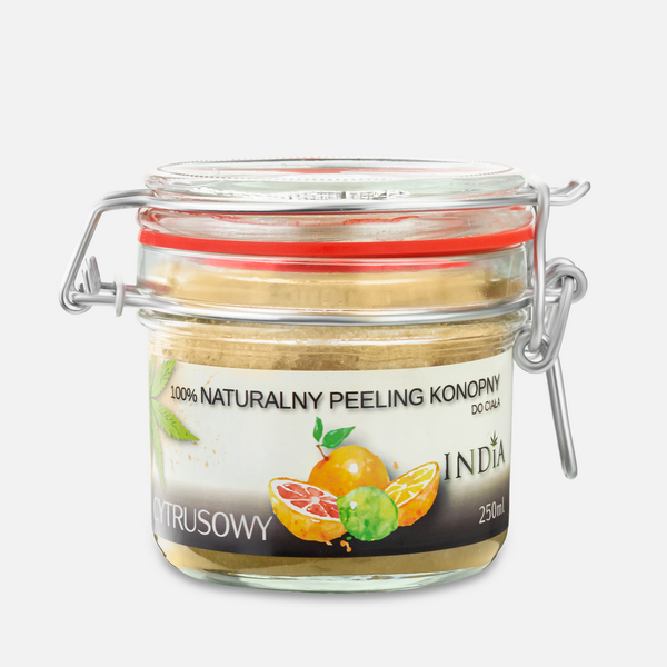 India peeling 100% naturalny cytrusowy 250ml