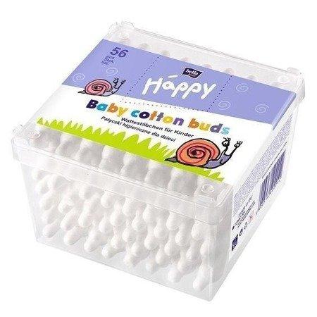 Patyczki higieniczne Baby Happy 56 SZT +8