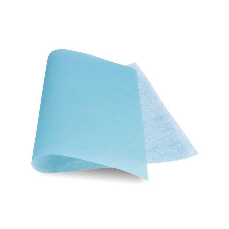 Serweta z włókniny TF 90x75 jałowa niebieska z przylepcem 1 szt