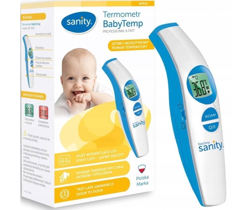 Termometr bezdotykowy BabyTemp