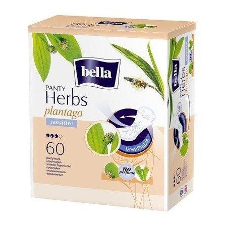 Wkładki Bella Panty Herbs z babką lancetowatą Sensitive Normal 60 SZT