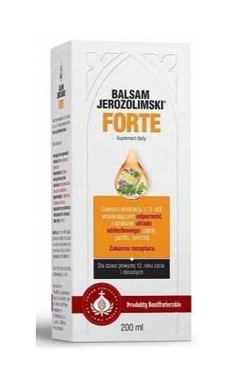 Bonifrates balsam jerozolimski forte 200ml