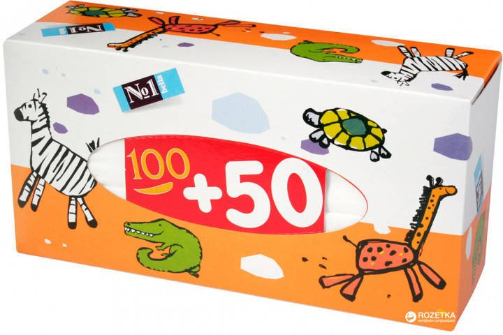 Chusteczki Bella uniwersalne No1 100+50 szt