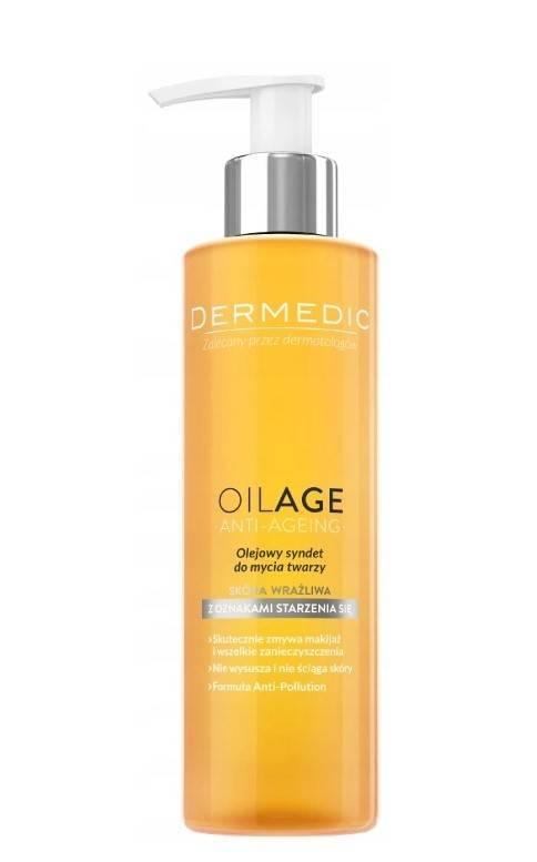 Dermedic Oilage Olejowy Syndet do mycia twarzy 200ml