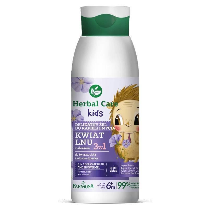 Farmona Herbal Care Kids delikatny żel do kąpieli oraz mycia 400ml