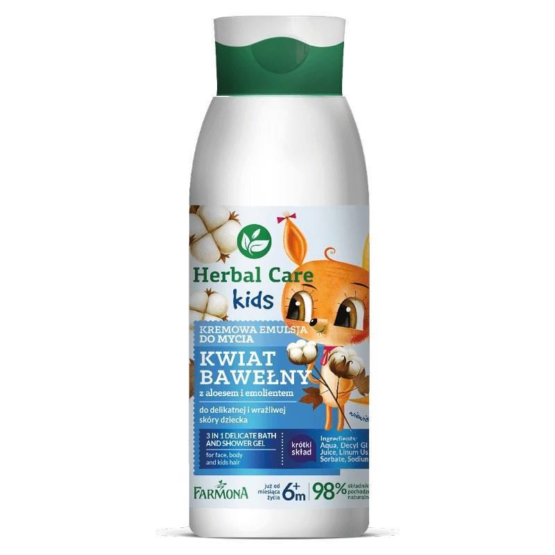 Farmona Herbal Care Kids kremowa emulsja do mycia 400ml