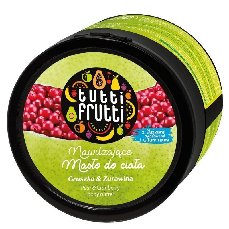 Farmona Tutti Frutti masło do ciała gruszka i żurawina 200ml