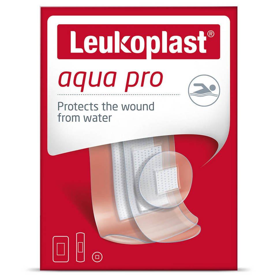 Leukoplast plaster aqua pro 38x63mm,19x72mm,śr.24mm mix 20 szt