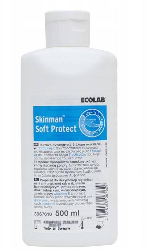 Płyn do dezynfekcji rąk Skinman Soft Protect 500ml