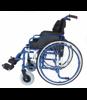 Wózek Inwalidzki aluminiowy IWR roz. 46/P nieb.